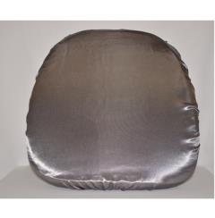 Rental store for Silver Bridal Satin Cushion Cover in Santa Ana CA
