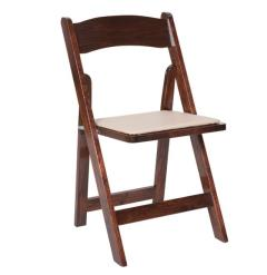 Rental store for Fruitwood Folding Chair in Santa Ana CA