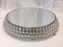 Rental store for Silver Bling w  Mirror Top Cake Stand in Santa Ana CA