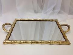 Rental store for Gold Bamboo Tray in Santa Ana CA