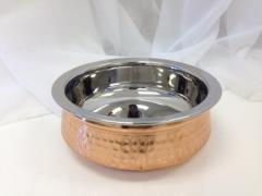 Rental store for Copper Hammered Shallow Bowl in Santa Ana CA