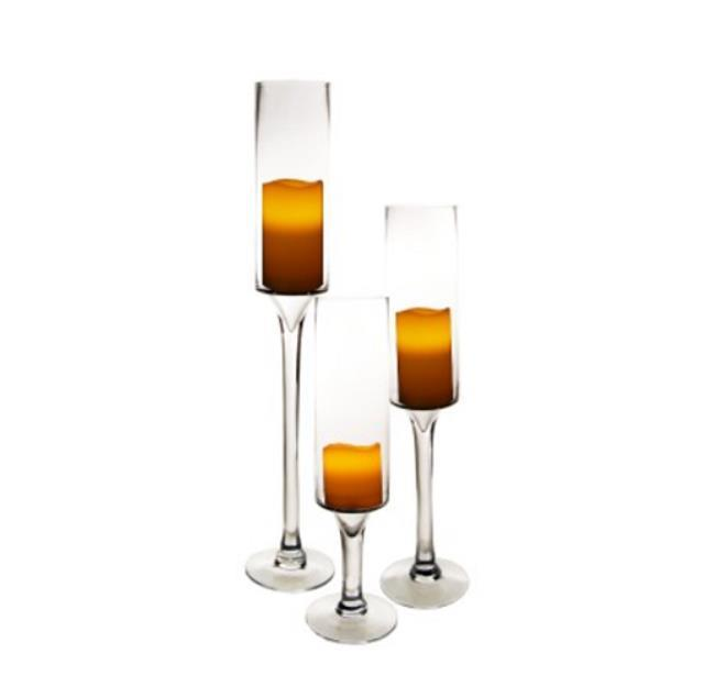 Rent Clear Candle Holders